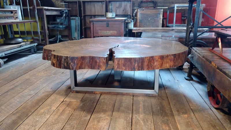 Groovy Live Edge Modern Table Squirreltailoven Fun Painted Chair Ideas Images Squirreltailovenorg